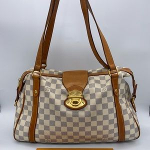 Louis Vuitton Stresa PM in Damier Azur